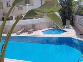 Andros apartment with 2 pools, tennis courts & gym, Protaras