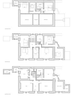 Layout of rooms at Hazel Brow