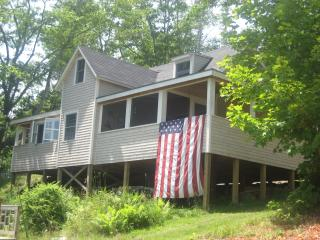 Cozy cottage overlooking Penobscot Bay near Camden, Northport