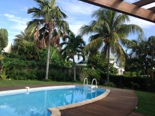 ABC Villa d architecte, familiale, piscine, plage, Sainte Rose