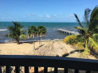 Beachfront, pool, private house two bedrooms, Hopkins