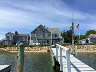 Fabulous Beach front home with private dock, West Yarmouth