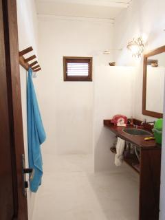 salle de bain mitoyenne chambres 2 et 3 dans la grande maison