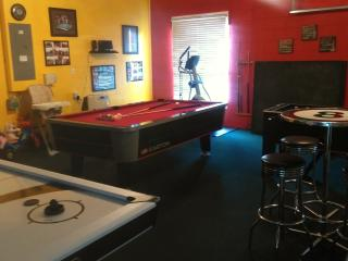 A/C Games and Fitness Room