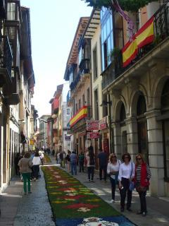 calle Mayor, fiesta Corpus Christi