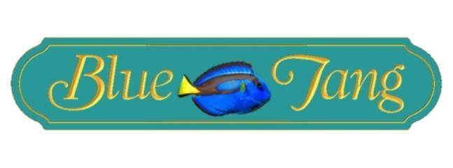 Blue Tang Sign