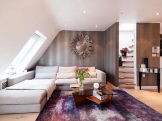 Spacious Chelsea Manson Gem apartment in Kensington & Chelsea with WiFi.