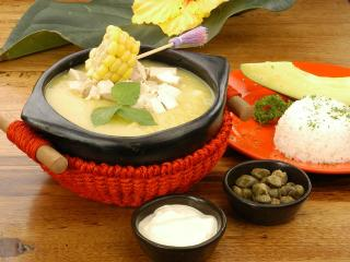 """You can not leave Bogotá without trying the traditional and delicious """"Ajiaco"""""""