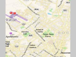 LOCATION. The apartment is NEAR the AIRPORT,  (see the purpure pin on map). Beside of AGUSTINIANA U