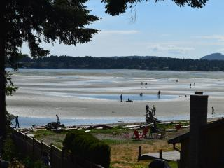 STUNNING Rathtrevor Beach Home! Steps to warm sand, Parksville