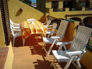 500m de la playa, apartamento para 4/6p piscina comunitaria y clima