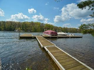 Split lakefront home with expansive deck, wooded surroundings!, Swanton