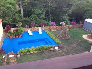 El Retiro  Barichara apto. 202 dos hab. vistas a la piscina.