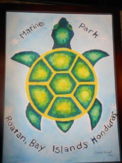 Watercolor by owner Deb Korbel.