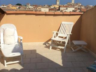 Duplex solarium ideal with baby, old Antibes
