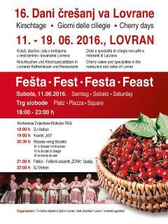 Lovran - Cherry days 2016. (June)