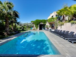 Tropical paradise on the Saint Tropez Peninsula, La Croix Valmer