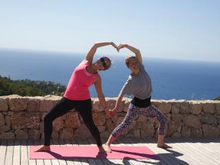 Yoga Retreats Detox, massage, organic food, Estellencs