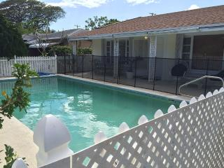 3 Bedrm Spacious Family Home Pool 1 Block From Intercoastal, West Palm Beach
