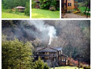 300 acre Mountain Retreat. 2 Rms. 3 private cabins, Irvine