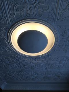 Stunning architectural details in the ceilings.