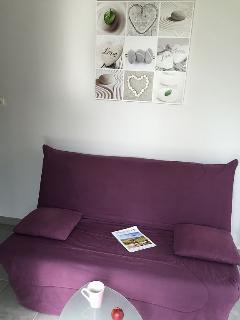 Canapé/Lit du séjour
