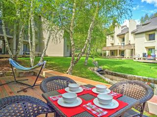 New Listing! Attractive 3BR Sun Valley Condo w/Wifi, Spacious Deck & Access to Community Pool & Sauna! Awesome Location - Close to Skiing, Hiking, Biking, Golf & More!