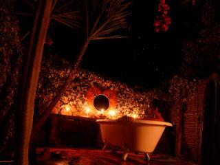 baños de florecimiento de día y noche
