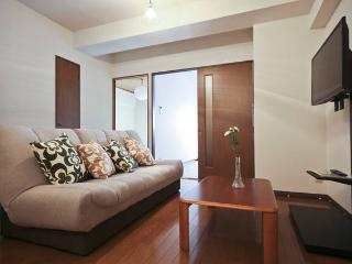 5min walk from JR Yamanote stn, 10min to Shinjuk
