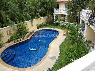 Double house for rent with communal pool in walking distance to the beach, Kamala