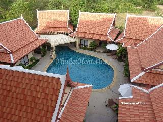 Beautiful single Bungalow with a living room in the hotel Thai Boutique Resort, Rawai