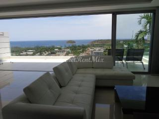 Exclusive two bedroom apartment with private Jacuzzi and panoramic views of the Andaman sea in the condominium The View, Kata Beach