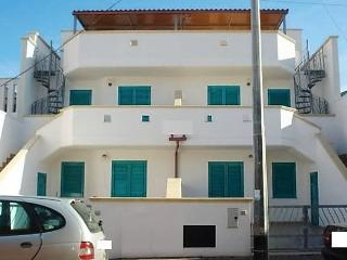 Two roomed holiday home in Torre Mozza in Salento Apulia with sea view on the s