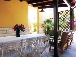Independent villa for rent in Apulia Salento in Gallipoli area of Baia Verde wit