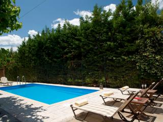 Villa Vassiliki with private pool, private BBQ and parking. PLAYGROUND FOR KIDS!