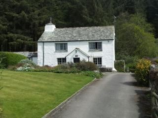 Unique house set in 2 acres of gardens and woods, Eskdale