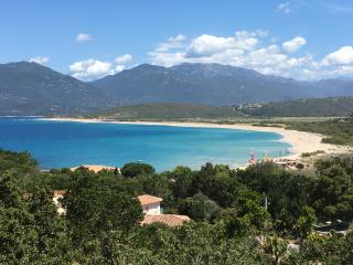 villa T3, vue mer a 200 m plage, climatisee, wifi