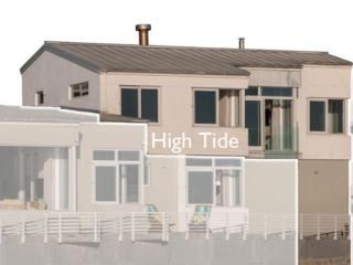 High Tide from the beach