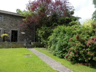Facade,terrasse, jardin