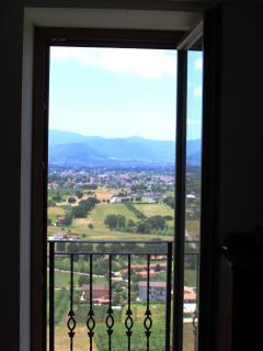 ...dalla finestra del salotto