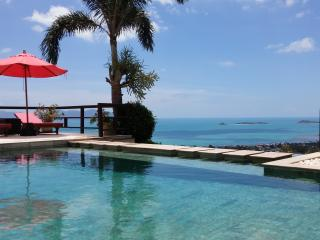 Bophut Talay Seaview villa with 180 degree view.