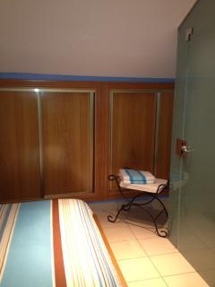detalle armarios empotrado habitación doble