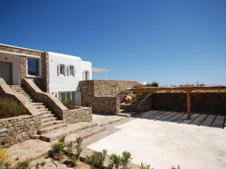 Magnificent villa on the southern coast of Mykonos, Elia