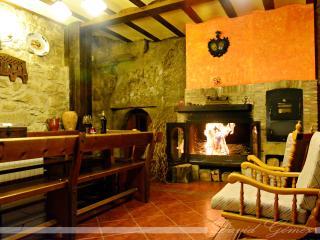 Casa de piedra ,ideal para familias y grupos con chimenea y bodega.