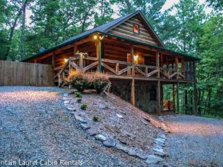 ASKA ADVENTURE AWAITS-3 BR, 3 BATH, SLEEPS 7, HOT TUB, PET FRIENDLY, WIFI, SAT TV, CHIMINEA, GAS LOG FIREPLACE, GAS GRILL, FOOSBALL TABLE, PING PONG, SLEEPS 7, ASKA ADVENTURE AREA. STARTING AT $135 A NIGHT!, Blue Ridge