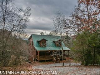 THE BOONDOCKS- 2BR/2.5BA, SLEEPS 6, KING SUITES, HOT TUB, MTN. VIEW CABIN, WIFI, GAS LOG FIREPLACE, STARTING AT $120/NIGHT!, Blue Ridge