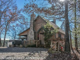 MOUNTAIN RIVERS LODGE- 4BR/4BA CABIN WITH A MOUNTAIN VIEW AND WITHIN WALKING DISTANCE OF THE TOCCOA RIVER, SUNROOM, POOL TABLE, HOT TUB, FIREPLACE, STARTING AT $225 A NIGHT!, Blue Ridge