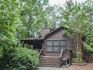 BLUEBERRY HILL- 2BR/2.5BA- WOODED CABIN SLEEPS 7, HOT TUB, 2 WOOD BURNING FIREPLACES, CHARCOAL GRILL, AND PET FRIENDLY! STARTING AT $99 A NIGHT!, Blue Ridge