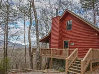 A BIRDS EYE VIEW- 2BR/2BA- CABIN SLEEPS 6, BEAUTIFUL MOUNTAIN VIEW OF THE