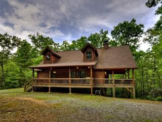 SOPHIE`S RETREAT- 3 BR/ 3.5BA CABIN, SLEEPS 8, PET FRIENDLY, HOT TUB, GAS GRILL, FIRE PIT, WOOD BURNING FIREPLACE, WIFI, POOL TABLE, SAT TV, MULTI- GAME ARCADE SYSTEM, CARD TABLE WITH BOARD GAMES, STARTING AT $145 A NIGHT!, Blue Ridge